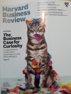 Curiosity on the Cover of HBR